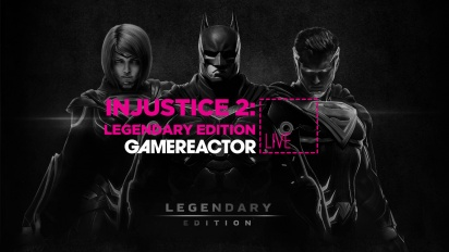GRTV spelar Injustice 2: Legendary Edition