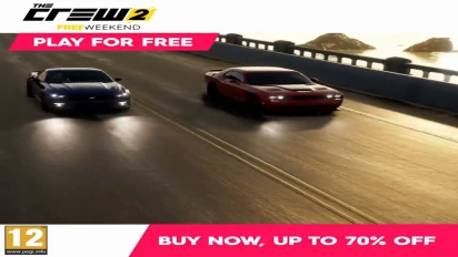 The Crew - Free Weekend December 5 to 8