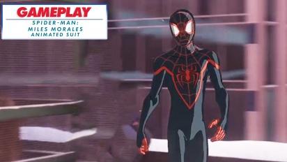 Spider-Man: Miles Morales - Den animerade dräkten