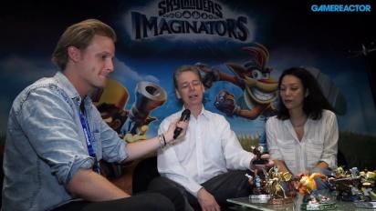 Skylanders Imaginators - Paul Reiche & Jennifer O'Neal-intervju