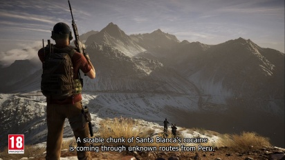 Ghost Recon: Wildlands Pre-Order Trailer