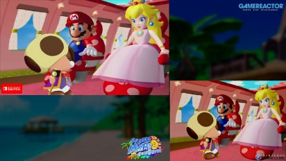 Super Mario Sunshine: Gamecube VS Switch Graphics Comparison