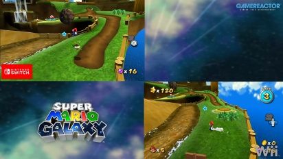 GRTV ställer Switch-versionen av Super Mario Galaxy mot Wii-upplagan