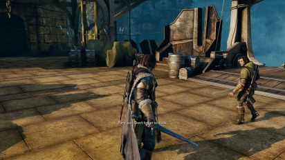 Shadow of Mordor - Standard PS4-gameplay
