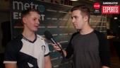Quake Champions-tävlingen på Dreamhack - Intervju med Winz