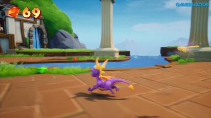 GRTV videorecenserar Spyro: Reignited Trilogy
