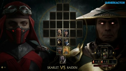 Mortal Kombat 11 - Skarlet vs Raiden