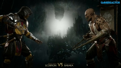 Mortal Kombat 11 - Scorpion vs Baraka