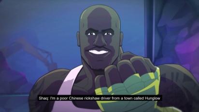 Shaq-Fu: A Legend Reborn - Release Date Trailer