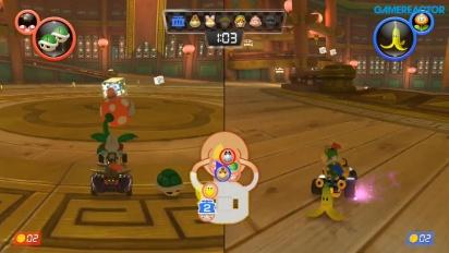 Mario Kart 8 Deluxe - Piranha Plants vs Spies 1080p60 Gameplay