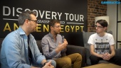 Discovery Tour by Assassin's Creed: Ancient Egypt - Maxime Durand and Jean Guesdon intervju