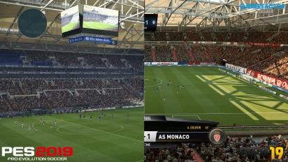 GRTV 4K-grafikduell: FIFA 19 vs PES 2019