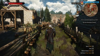 GRTV spelar The Witcher 3: Wild Hunt till Nintendo Switch