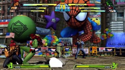 Marvel vs Capcom 3: Fate of Two Worlds - Akuma Trailer