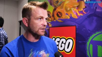 Lego DC Super Villains - Arthur Parsons intervjuad