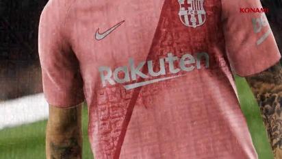 PES 2019 - FC Barcelona Third Kit Reveal