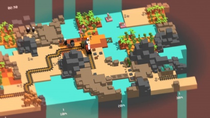 GRTV kikar närmare på indie-spelet Unrailed
