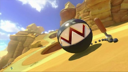 Mario Kart 8 - DLC Pack 2 GBA Cheese Land Trailer