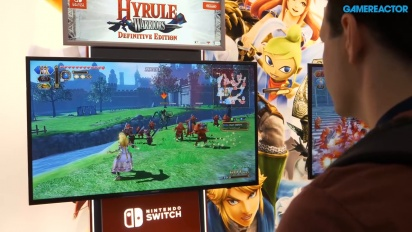 GRTV på Pax 2018: Vi spelar Hyrule Warriors: Definitive Edition