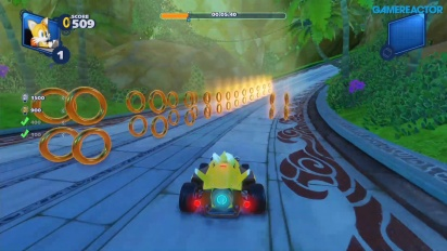 GRTV spelar Team Sonic Racing: Lost Palace Ring Challenge