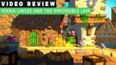 GRTV videorecenserar Yooka-Laylee and the Impossible Lair
