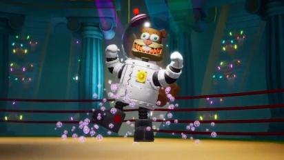 Spongebob Squarepants: Battle for Bikini Bottom - Rehydrated - Boss Fight Trailer
