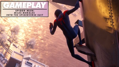 Spider-Man: Miles Morales - Into the Spider-Verse Suit - Gameplay