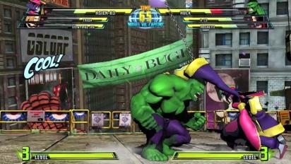 Marvel vs Capcom 3: Fate of Two Worlds - Hsien-Ko Trailer